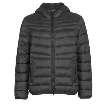 Oblačila Moški Puhovke Geox DENNIE Črna