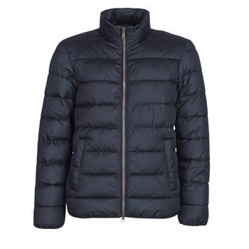 Oblačila Moški Puhovke Geox WELLS Modra