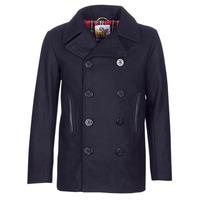 Oblačila Moški Plašči Harrington PCOAT Modra