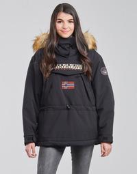 Oblačila Ženske Parke Napapijri SKIDOO Črna