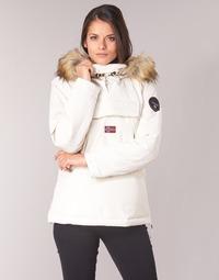 Oblačila Ženske Parke Napapijri SKIDOO Bela
