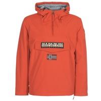 Oblačila Moški Parke Napapijri RAINFOREST WINTER Oranžna