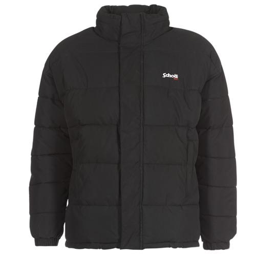 Oblačila Puhovke Schott NEBRASKA Črna
