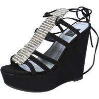 Čevlji  Ženske Sandali & Odprti čevlji Islo Sandale BZ328 Črna