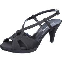 Čevlji  Ženske Sandali & Odprti čevlji Calpierre sandali nero raso BZ739 Nero