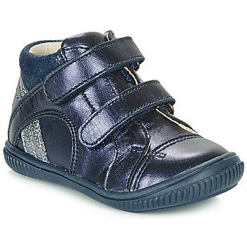 Čevlji  Deklice Visoke superge GBB ROXANE Modra
