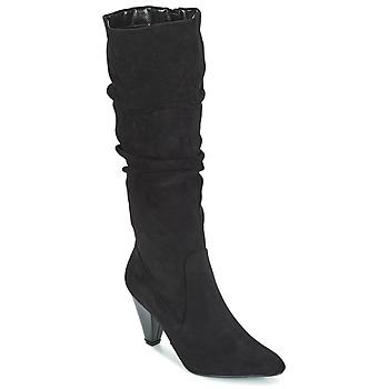 Čevlji  Ženske Mestni škornji    Moony Mood JULMA Črna