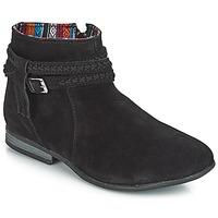 Čevlji  Ženske Polškornji Minnetonka DIXON BOOT Črna
