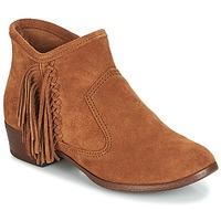Čevlji  Ženske Gležnjarji Minnetonka BLAKE BOOT Kamel