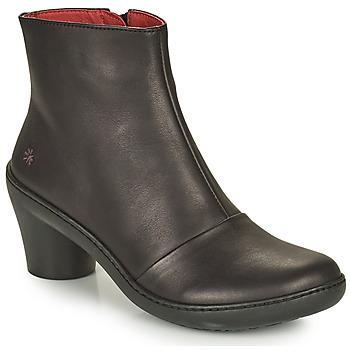 Čevlji  Ženske Gležnjarji Art ALFAMA Črna