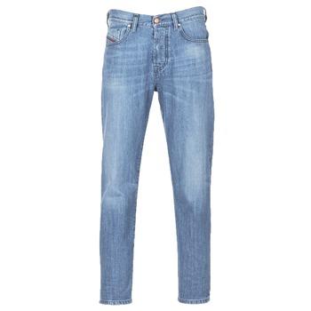 Oblačila Moški Jeans straight Diesel MHARKY Modra / 084uj
