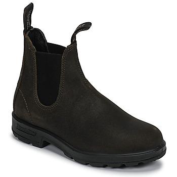 Čevlji  Polškornji Blundstone SUEDE CLASSIC BOOT Kaki