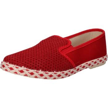 Čevlji  Moški Slips on Caffenero Spodrsniti Na AE159 Rdeča