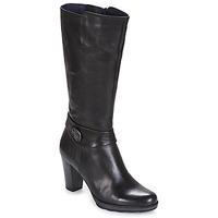 Čevlji  Ženske Mestni škornji    Dorking REINA Črna
