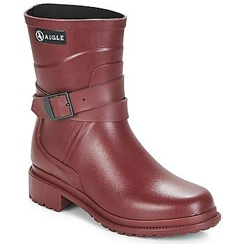 Čevlji  Ženske škornji za dež  Aigle MACADAMES MID Bordo