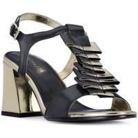 Čevlji  Ženske Sandali & Odprti čevlji Apepazza NERO HEEL SANDAL Nero