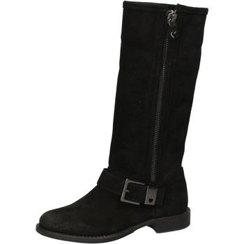 Čevlji  Ženske Mestni škornji    Twin Set AE835 Črna