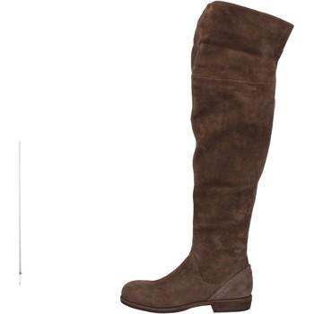 Čevlji  Ženske Visoki škornji Vic Čevlji AE871 Rjav