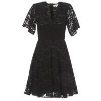 Oblačila Ženske Kratke obleke Derhy DAMOISELLE Črna