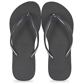 Čevlji  Ženske Japonke Havaianas SLIM Črna