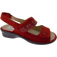 Čevlji  Ženske Sandali & Odprti čevlji Calzaturificio Loren LOM2716ro rosso