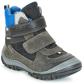 Čevlji  Dečki Škornji za sneg Primigi PNA 24355 GORE-TEX Siva / Modra