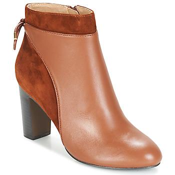 Čevlji  Ženske Gležnjarji Jonak BEAR Cognac