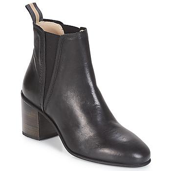 Čevlji  Ženske Gležnjarji Marc O'Polo CAROLINA Črna