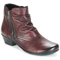 Čevlji  Ženske Gležnjarji Remonte Dorndorf SORIAL Bordo