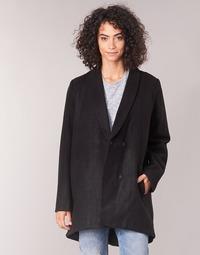 Oblačila Ženske Plašči Vila VICAMDON Črna