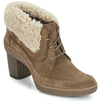 Čevlji  Ženske Mestni škornji    El Naturalista LICHEN Kaki