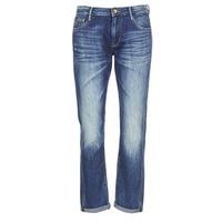 Oblačila Ženske Jeans boyfriend Le Temps des Cerises HERITAGE Niebieski