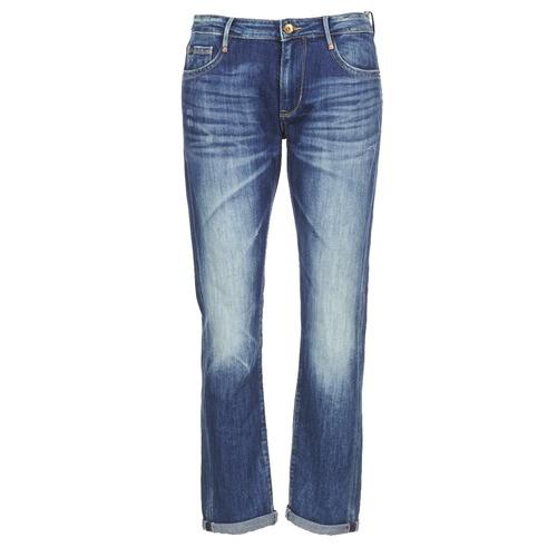Oblačila Ženske Jeans boyfriend Le Temps des Cerises HERITAGE Modra