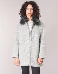 Oblačila Ženske Plašči Le Temps des Cerises DUCHESSE Siva