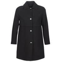 Oblačila Ženske Plašči Sisley FAREDA Črna