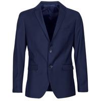 Oblačila Moški Jakne & Blazerji Sisley FASERTY Modra