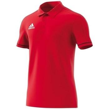 Oblačila Moški Polo majice kratki rokavi adidas Originals Polo Tiro 17 Rdeča