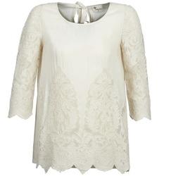 Oblačila Ženske Topi & Bluze Stella Forest AELEZIG Kremno bela