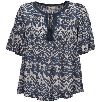 Oblačila Ženske Topi & Bluze Stella Forest ANNAICK Kremno bela / Modra