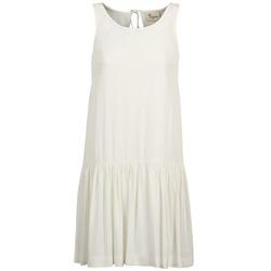 Oblačila Ženske Kratke obleke Stella Forest DELFINEZ Kremno bela
