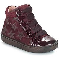 Čevlji  Deklice Visoke superge Acebo's MASSA Bordo