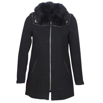 Oblačila Ženske Plašči Desigual COLLINE Črna