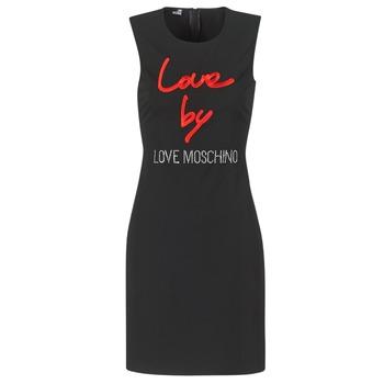Oblačila Ženske Kratke obleke Love Moschino CARININA Črna