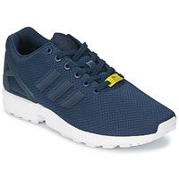 Čevlji  Moški Nizke superge adidas Originals ZX FLUX Niebieski / Bela