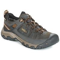 Čevlji  Moški Pohodništvo Keen TARGHEE III WP Kaki