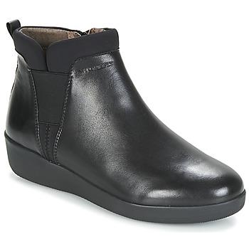 Čevlji  Ženske Polškornji Stonefly PASEO IV 5 NAPPA Črna