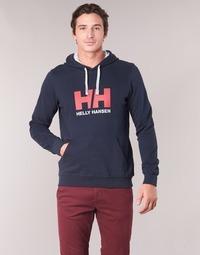 Oblačila Moški Puloverji Helly Hansen HH LOGO HOODIE Modra