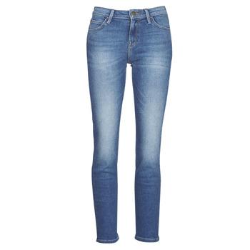 Oblačila Ženske Jeans straight Lee ELLY Modra
