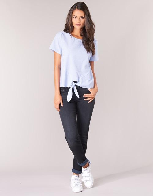 Oblačila Ženske Jeans straight Lee ELLY ZIP Črna