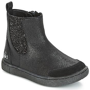 Čevlji  Deklice Polškornji Mod'8 BLABLA Črna